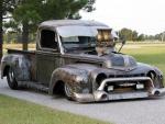 Bare Metal 1947 Pickup, Rat Truck