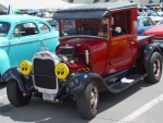 1929 Ford Coupe With Moon Eyes Lens Covers