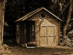 Old Retro Barn