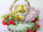 ..Cherries Kitty..