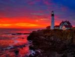 Portland Lighthouse Cape Elizabeth, Maine