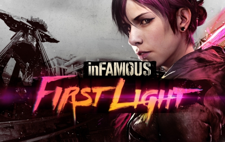 First Light - inFAMOUS First Light, Neon, inFAMOUS, First Light, PS4, Fetch