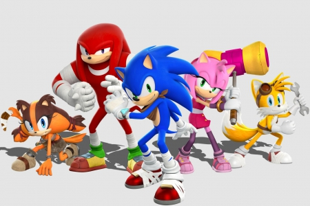 SONIC B00M! - Sonic the Hedgehog, Tails, Sonic Boom, Wii U, Amy Rose, Knuckles