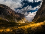 wonderful valley landscape