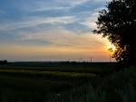 Beautiful Sunset in Romania