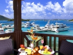breakfast at virgin island marina