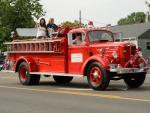 Retro Fire Engine