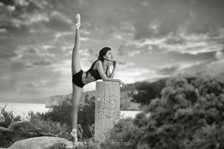 * - beauty, step, photography, dancer, sunset, girl, black and white