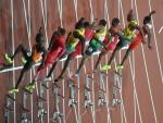 London 2012 final 100 meter start