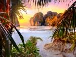 Sunset Beach, Phi Phi Island