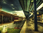 train station hdr