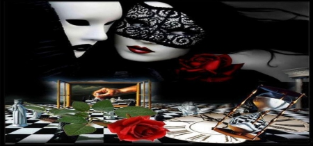 ENIGMATIC MASKS - enigmatic, masks, wonderful, fantasy, fantastic