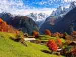 Autumn In The Swiss Alps