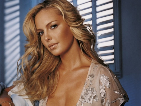 Katherine Heigl - female, actress, tempting, blonde, sexy
