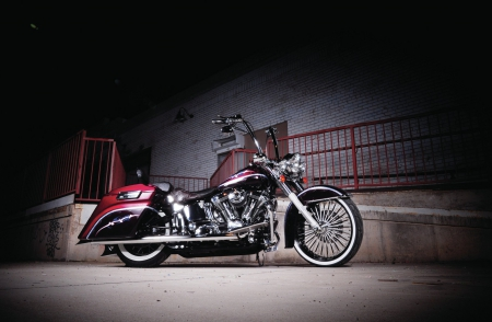 2005-Harley-Davidson-Softail - HD, Bike, 2005, Chrome