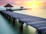 thailand beach pier