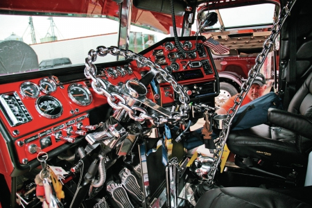 Custom peterbilt interior other cars background - Peterbilt 379 interior accessories ...
