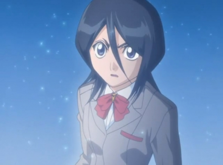 Rukia - pretty, kuchiki, shock, beautiful, magic, sweet, nice, anime, rukia kuchiki, beauty, anime girl, rukia, staring, surprise, black hair, school uniform, stare, bleach, female, lovely, ribbon, kuchiki rukia, short hair, shinigami, girl, uniform, soul reaper