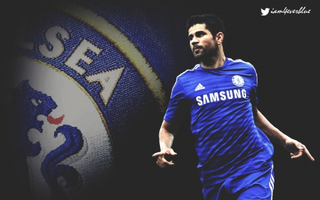 Diego Costa Chelsea Wallpaper version 2 - Football & Sports