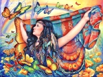 Butterfly Blanket
