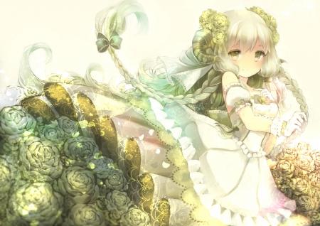 Gold Rose Garden Other Anime Background Wallpapers On Desktop Nexus Image 1811842