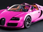 Pink Bugatti