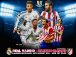 Supercopa de Espana Real Madrid - Atletico Madrid
