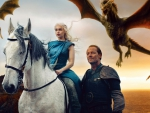 Game of Thrones - Daenerys, Jorah and the Dragons