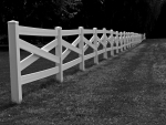 Long Old Fence