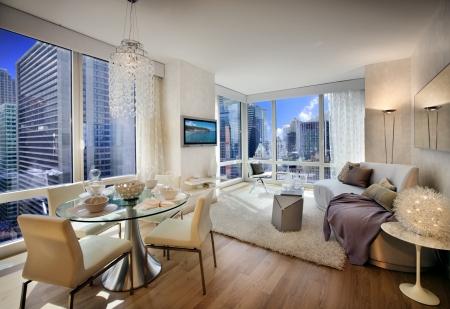 New York City Apartment - Modern & Architecture Background ...