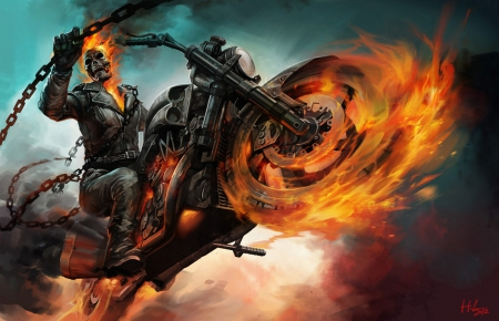ghost rider - Movies & Entertainment Background Wallpapers