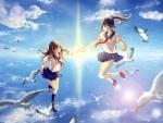 Between the Sky