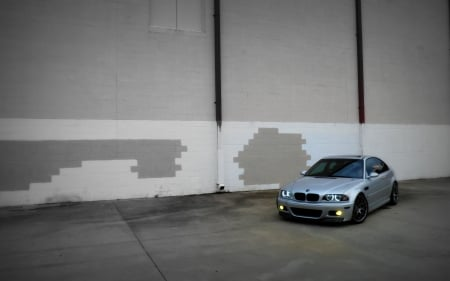 BMW E46 M3 Urban Wall (2) - BMW, car, import, sports car, M3, E46
