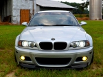 BMW E46 M3 Front End Barn Shot