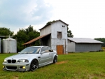 BMW E46 M3 Barn Scene
