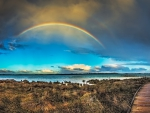 Rainbow Over Lake Clifton