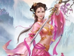 Beautiful Warrior Girl