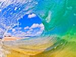 Crystalline Sea Wave
