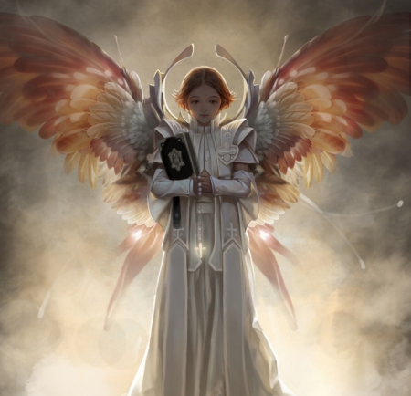 Holy Angel - Fantasy & Abstract Background Wallpapers on Desktop Nexus  (Image 1817542)