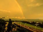 Rainbow over Taiwan