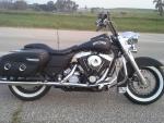 Flat Black Harley