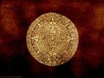 Gold Aztec Calendar