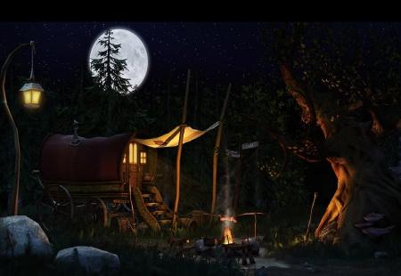 A Gypsy Camp