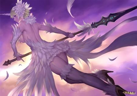 White Phoenix Other Anime Background Wallpapers On Desktop Nexus