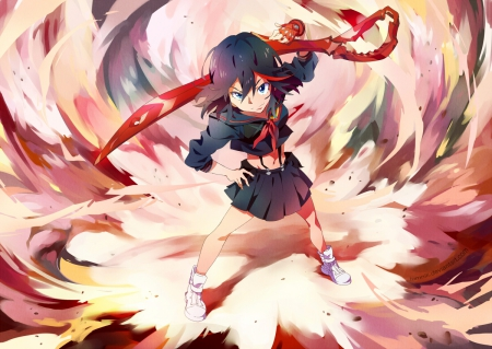 Ryuko Matoi Other Anime Background Wallpapers On Desktop