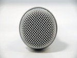 Shure microphone top