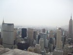 Rockefeller Skyline View