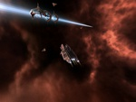 EVE online screenshot Stargate in use