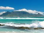Beautiful Beach in South Africa