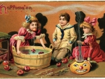 Halloween Apple Party